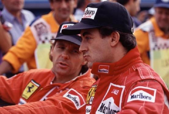Alesi-Berger-Ferrari