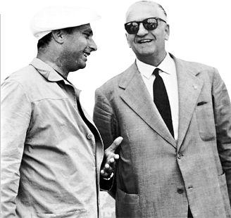 Juan Manuel Fangio - Enzo Ferrari